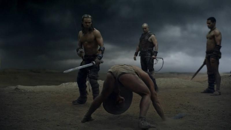 Спартак Боги арены Ганник против Крикса