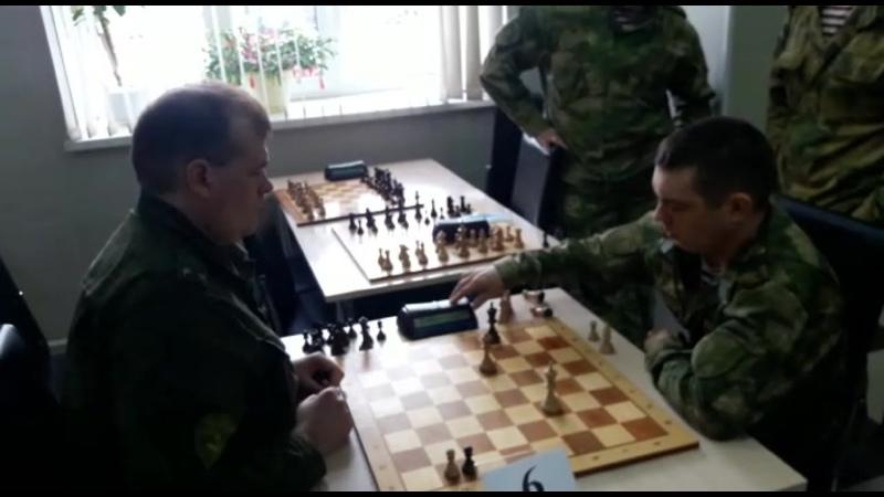 Чемпионат Уральского округа ВНГ РФ по шахматам