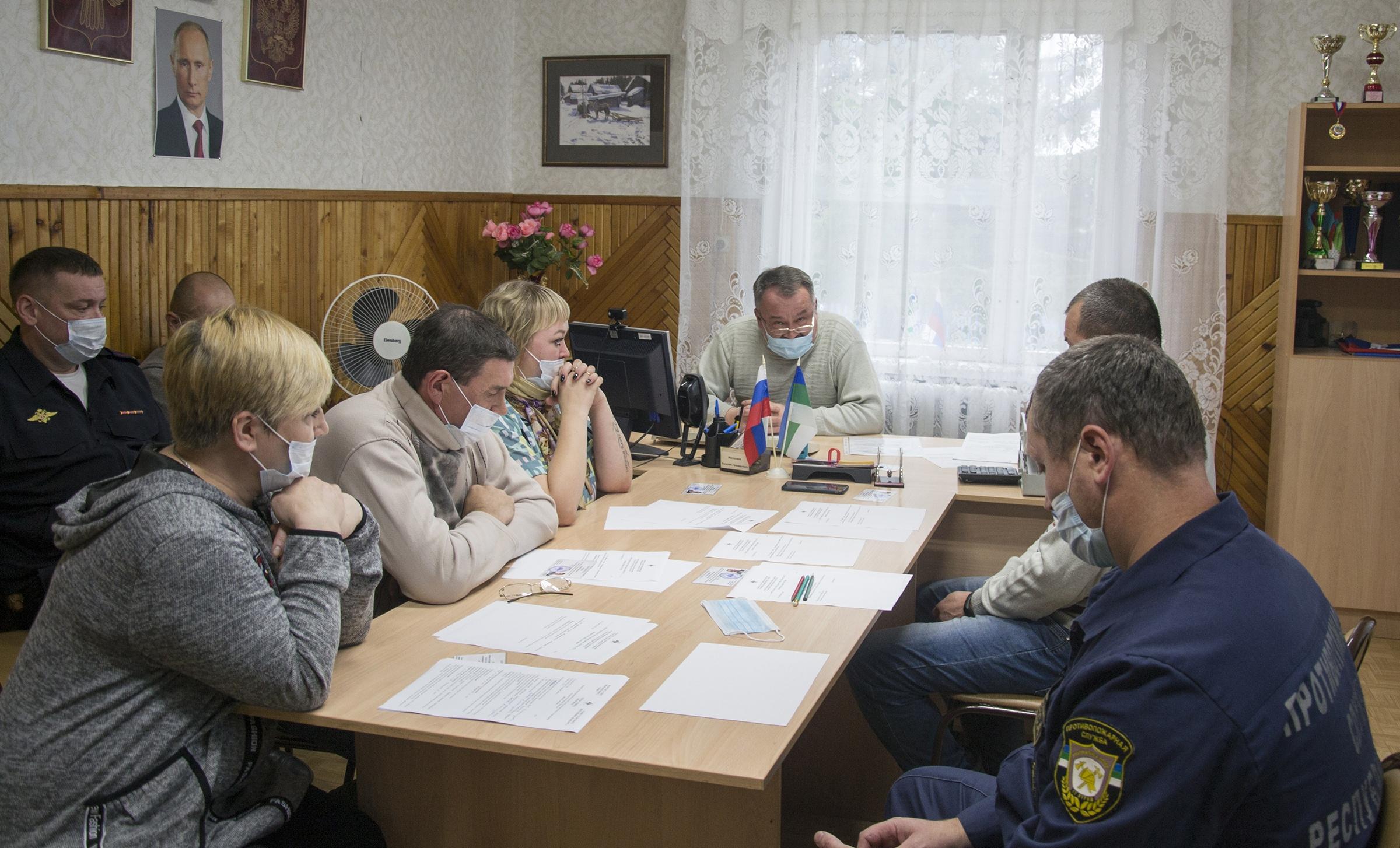 Организационные сессии на Удоре завершились