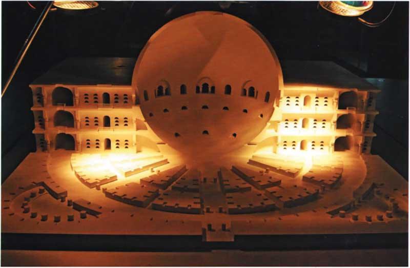 Загадка архитекторов Этьена Булле и Клода Леду идеи которому давали «сущности выходящие из тени», изображение №18