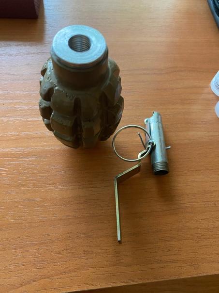ММГ макет гранаты Ф-1 Все детали и запал забираются как у...