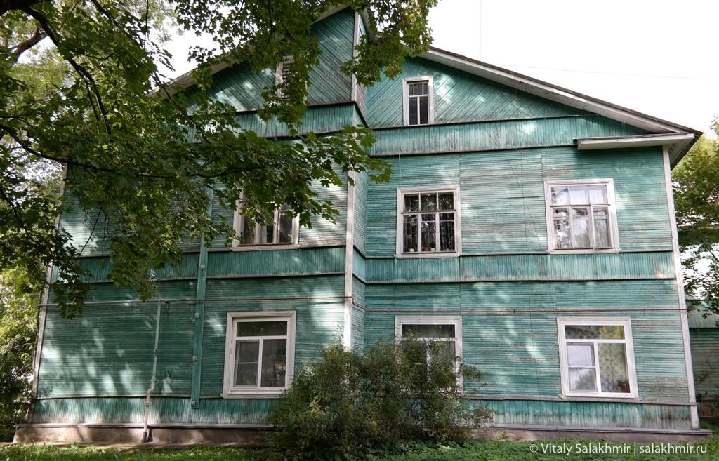 Деревянные дома в Гатчине, расселение