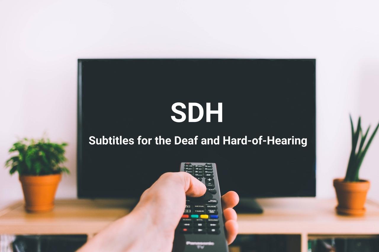 субтитры для глухих