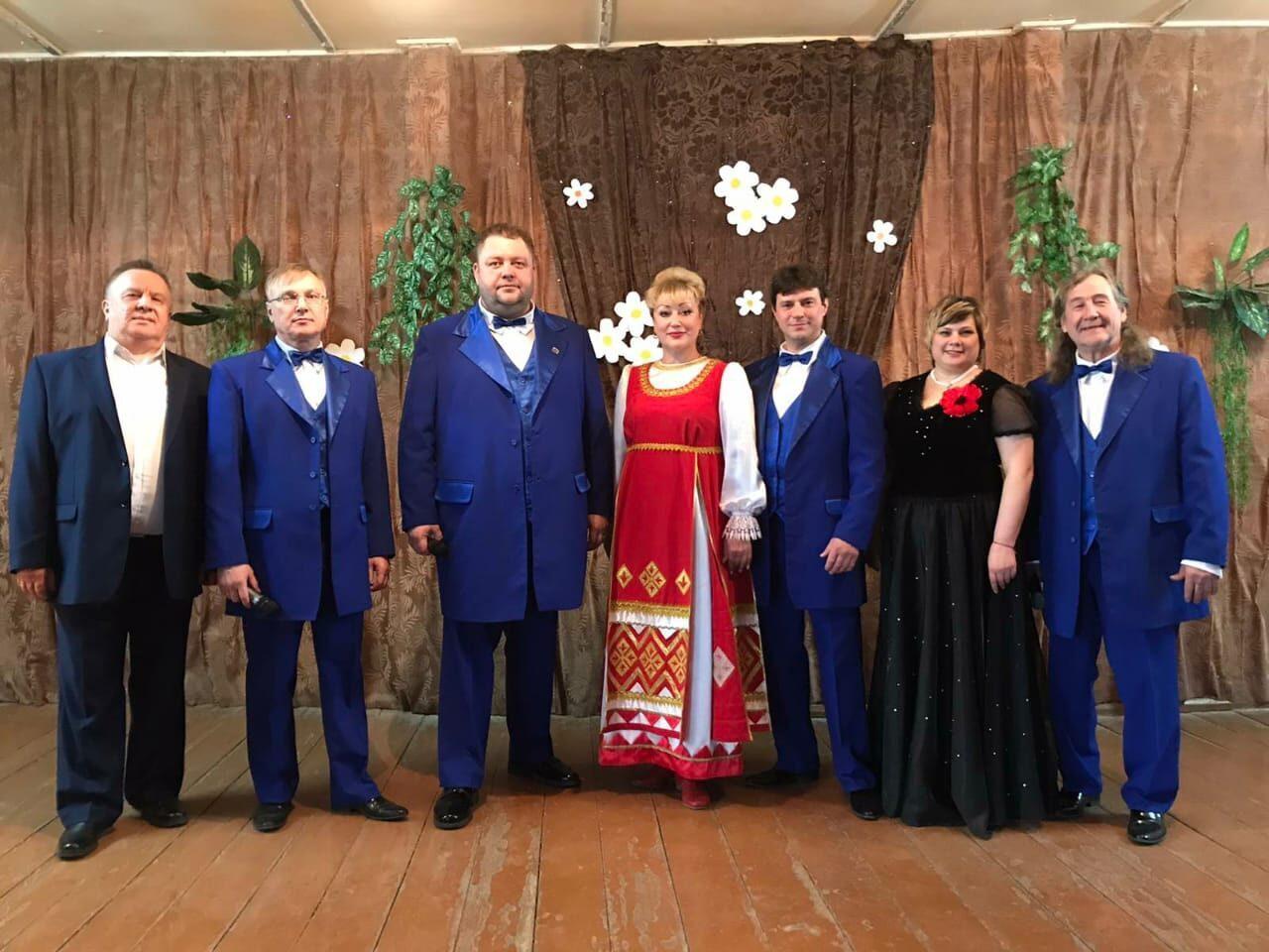 В селе Синенькие состоялся концерт творческого коллектива районного Дома культуры