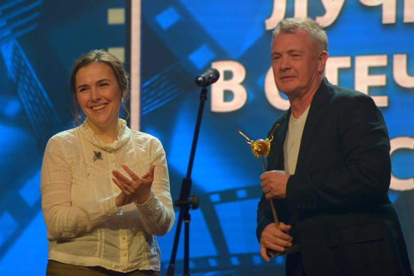 Актриса Елена Панова вручила приз режиссеру Юрию Морозу