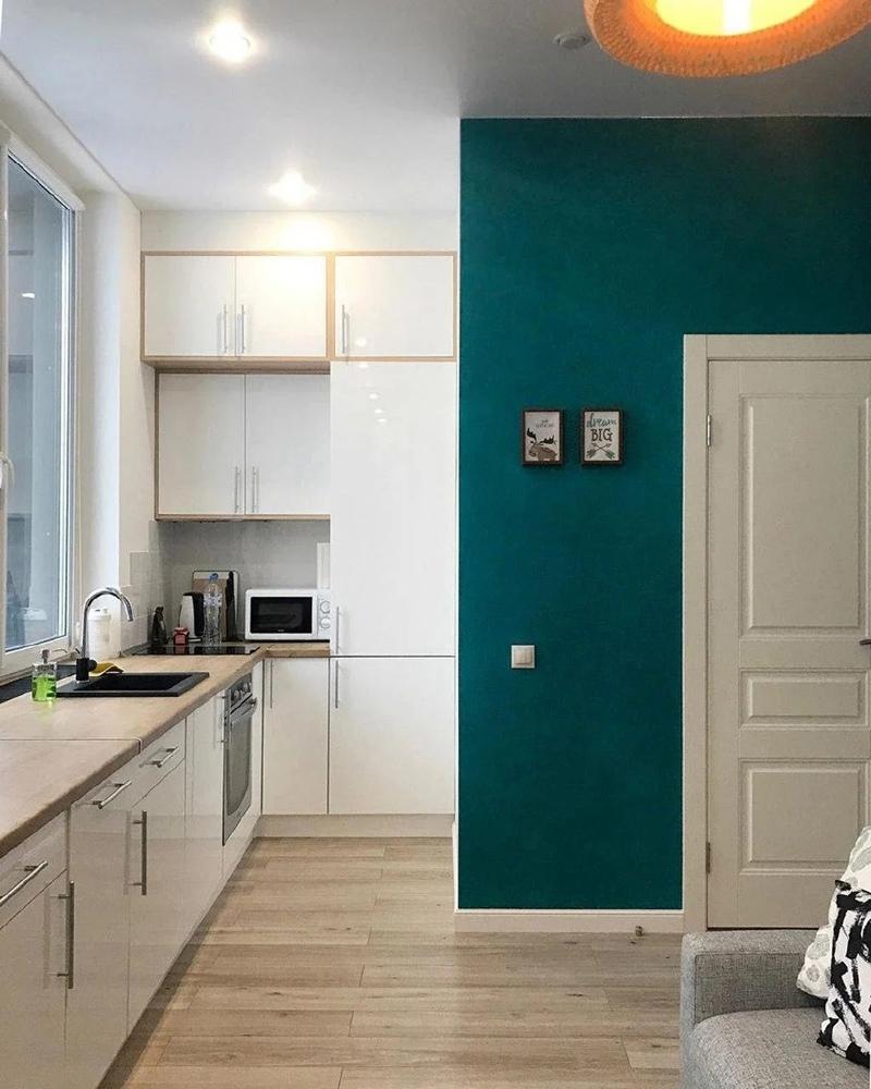 Реализованный проект: маленькая квартира-студия 20,4 кв.