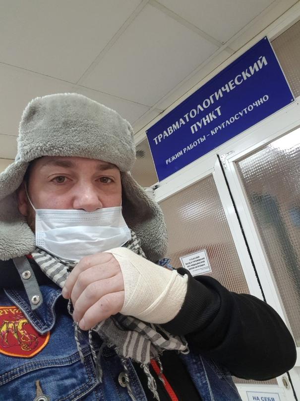 Известный блогер и путешественник из Москвы чуть было не лишился руки в ХМАО.