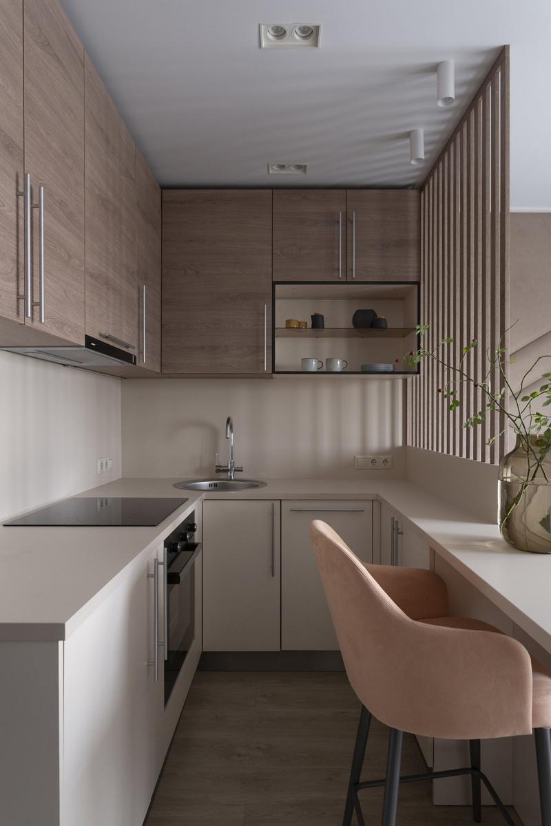 Дизайн маленькой квартиры-студии 23 кв.