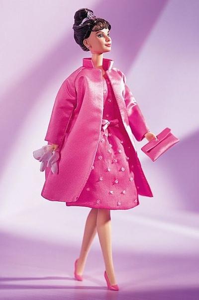 Екатерина Лондон: Audrey Hepburn in Breakfast at Tiffany's Pink Princess™ Fashion 1999 Timeless Treasures™ Collection Classic Edition