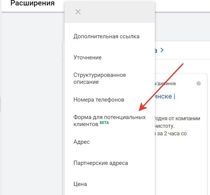 Лид Формы В Google Ads, изображение №2