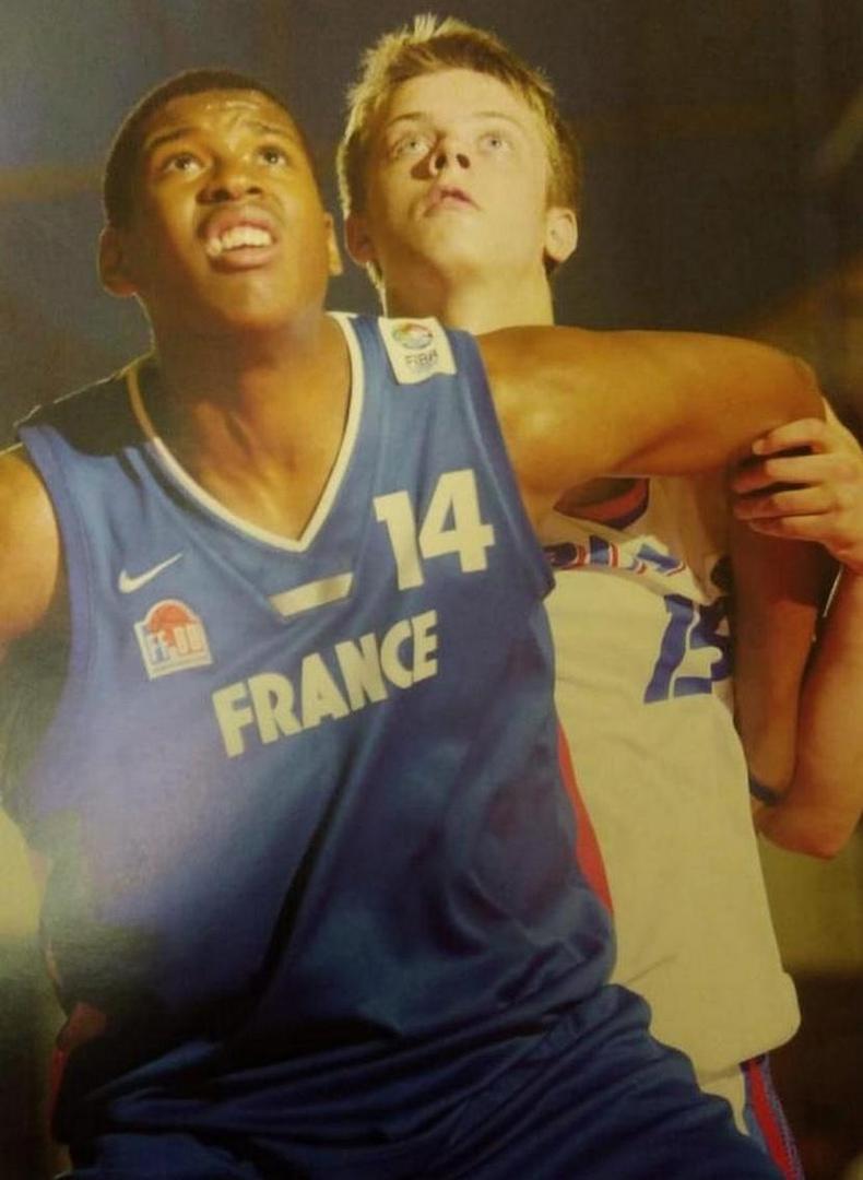 Сын Константин на чемпионате Европы (U-16)