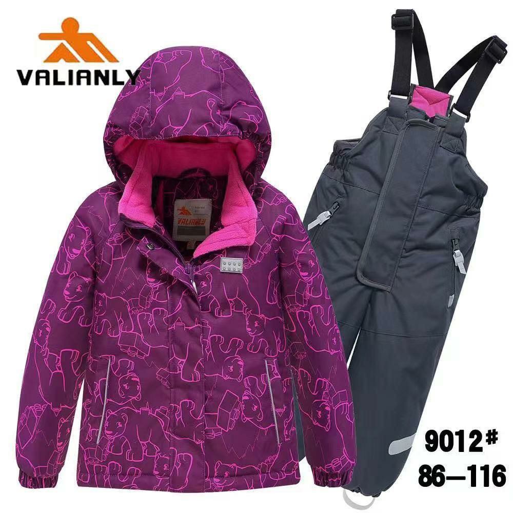 Зимний комплект Valianly 9012 фиолет