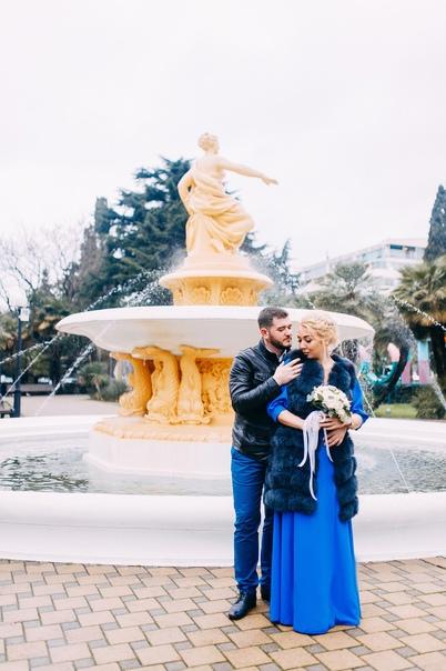 Свадебная фотосессия в Сочи .Ксения и Александр 02.20