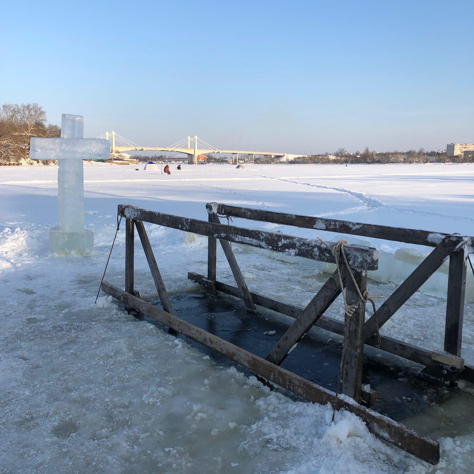 В Кимрском районе определены оборудованные места для Крещенских купаний
