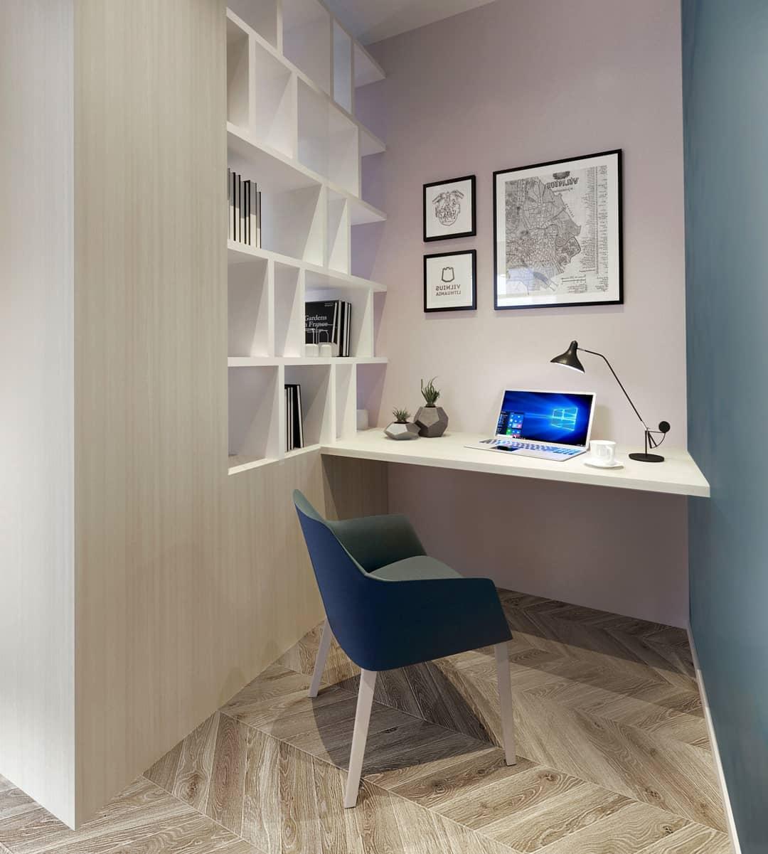 Проект апартаментов 32 кв.