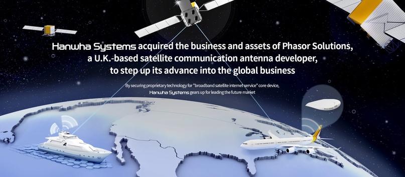 New space: Южнокорейская Hanwha Systems запустит 2000 спутников связи к 2030 году 🇰🇷
