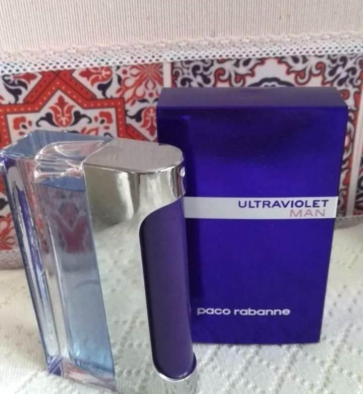 Paco Rabanne Ultraviolet (мужской) 100 ml. 1580 рублей.