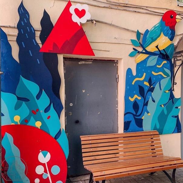 В одном из дворов по Казанской улице организовали ...