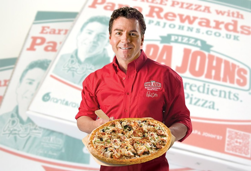 Популярная сеть пиццерий Papa John's напоминает: полюби планету также, как и пиццу