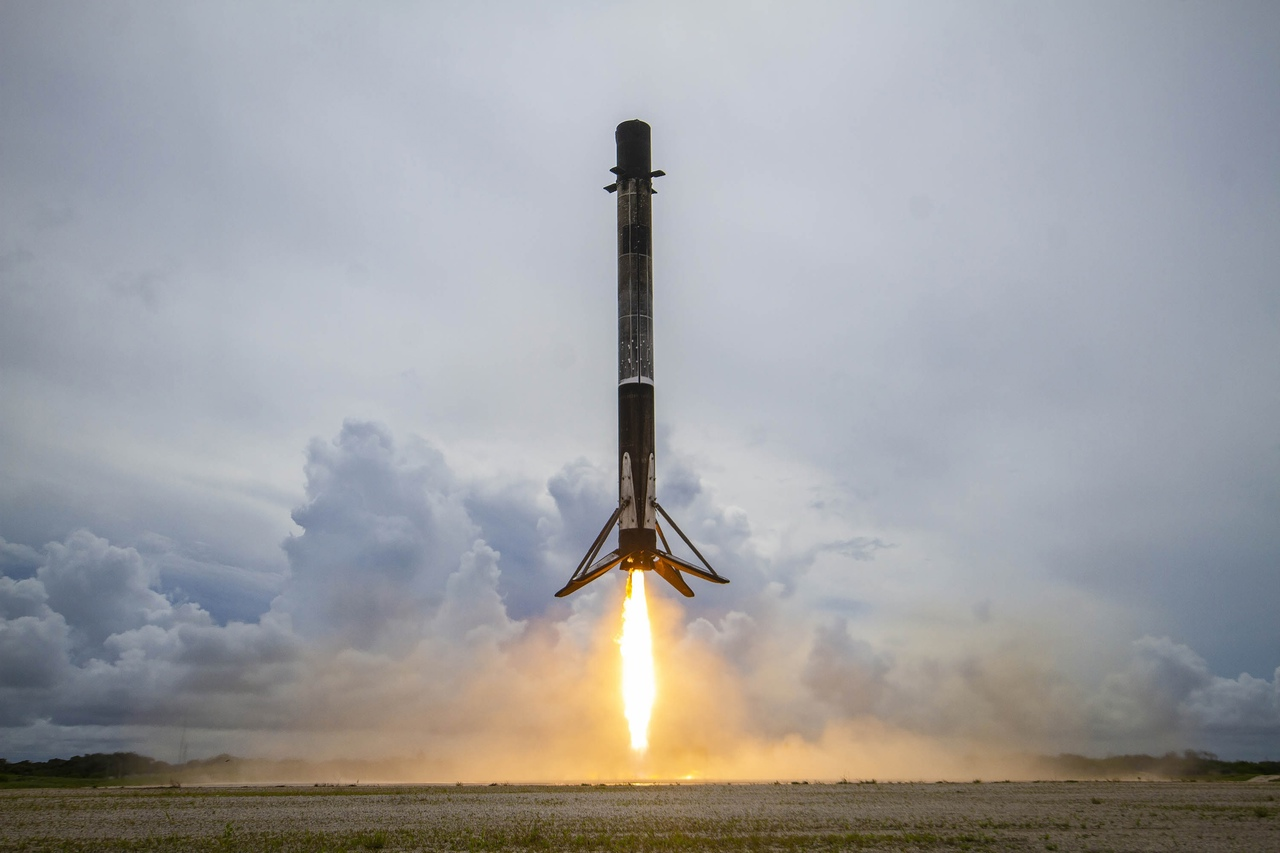 credit: SpaceX  Falcon 9 B1060.8 (Transporter-2)