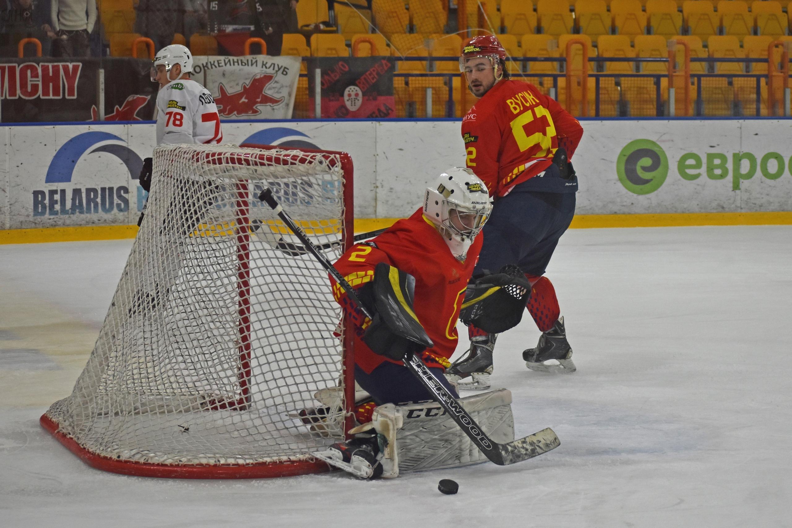 Хоккейный клуб «Лида» завершил Игры развития поражением от барановичского «Авиатора».