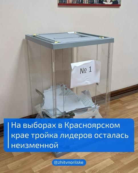 19 сентября завершилось трехдневное голосование на...
