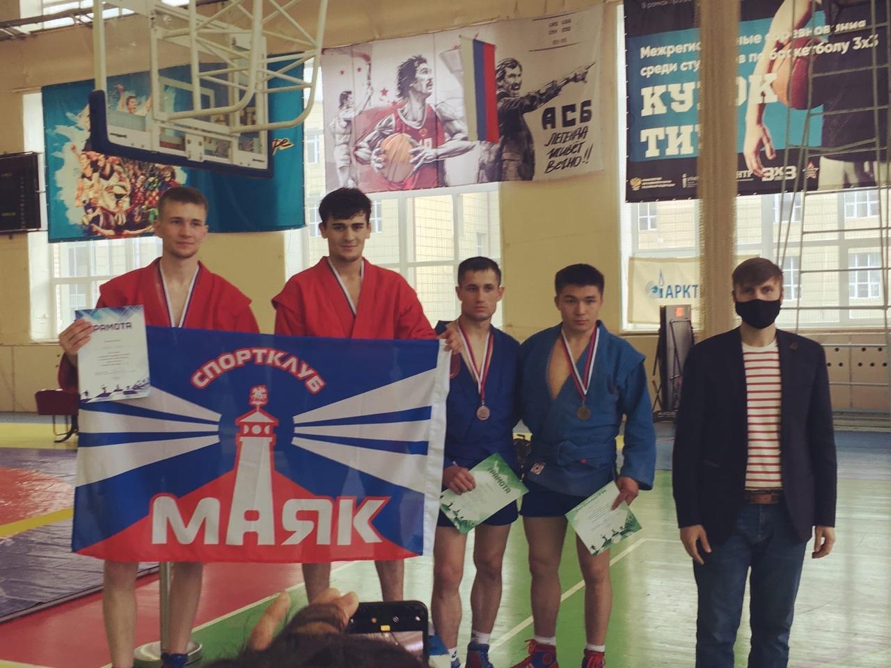 Прошел открытый турнир по Самбо, посвященный «Дню Победы» в г. Тюмень
