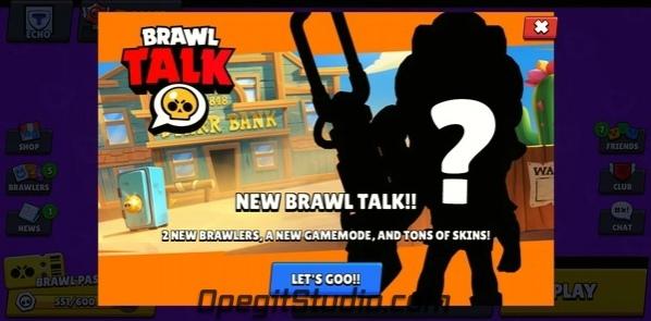 Brawl Talk уже через пять минут! Да, кстати,