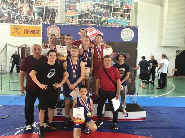 Спортсмены города Донецка стали призёрами соревнований по греко-римской борьбе в Анапе