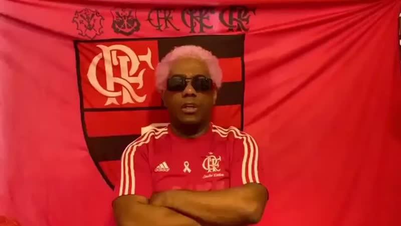O sambista Ivo Meirelles fez essa homenagem ao Flamengo após o vice campeonato do Mundial mp4