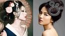 Высокие прически и украшения для волос в Японии