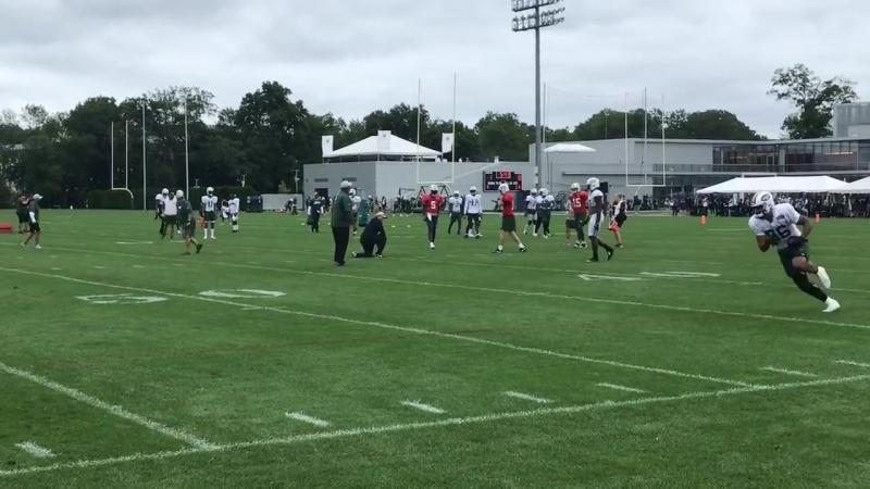 Jets' Sam Darnold Day 15 training camp highlights