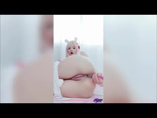 Hidori Rose Usagi Hidori Chan Butt Play Amateur, Teen, Cosplay, POV, Blowjob, Anal