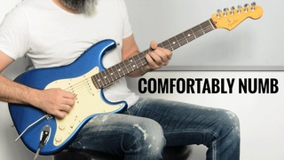 Pink Floyd Comfortably Numb... But It's a 10 Minutes Guitar Solo! Fender Ultra