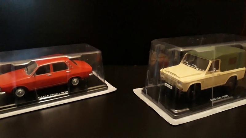 1 24 COLLECTON CARS ARO 240 1972 DACIA 1300 1970 MUSEUM