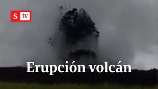 Erupción del volcán de lodo en Necoclí | Video Semana