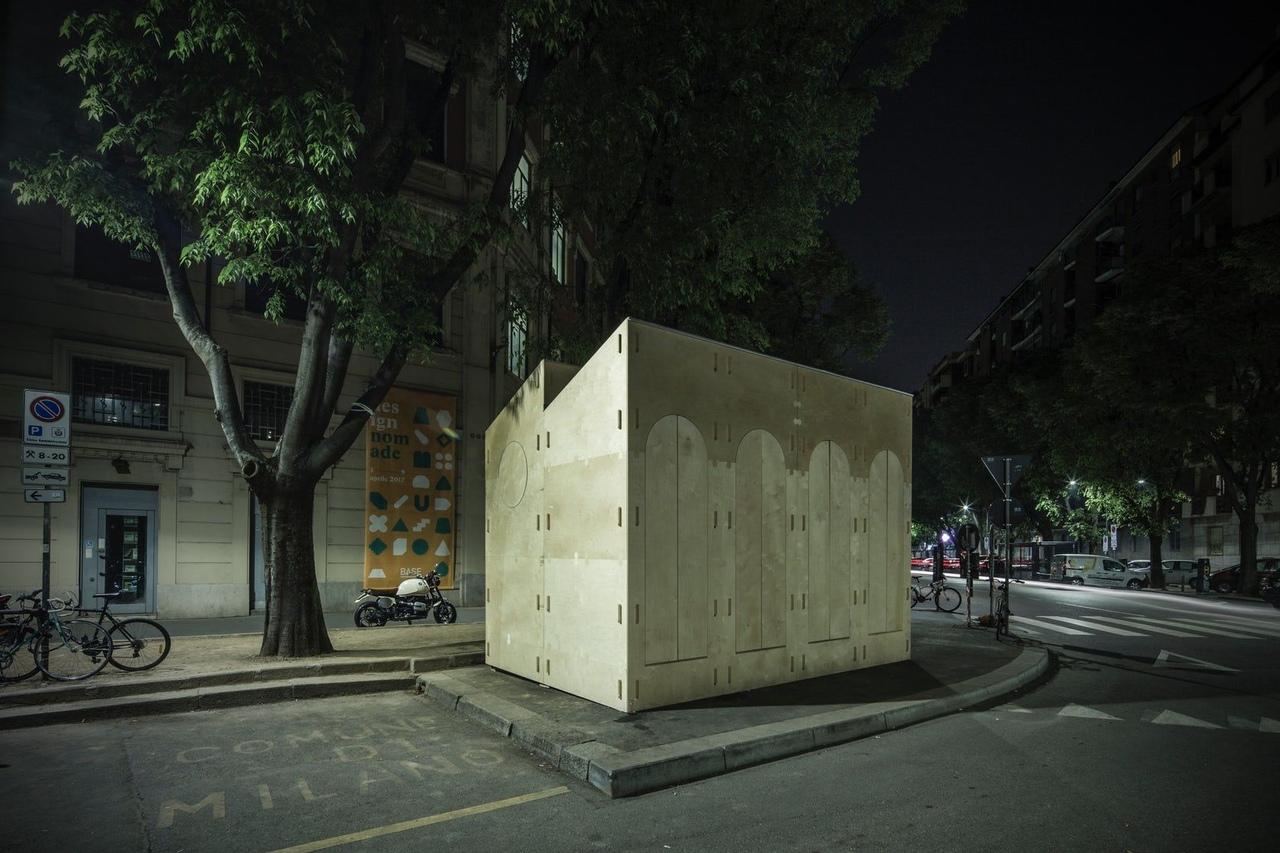 Quiubox in Milan, Italy by Boano Prišmontas