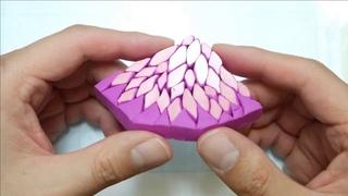 Really Easy Handicraft _ Making Pink Cane _ 쉬운 핑크 케인 만들기