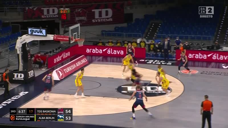 Euroleague RS 20 21 Baskonia Alba Berlin