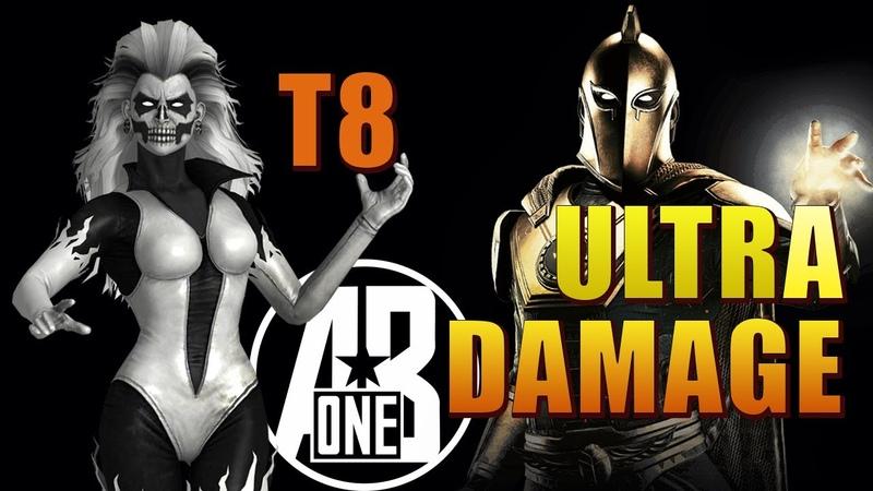 INJUSTICE 2 MOBILE SILVER BANSHEE VS DR FATE T8 Как бить Банши на рейде