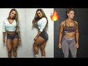 Hot and Sexy Stephanie Sanzo Shoulder Workout Mom of x2 Fitness Motivation 2018