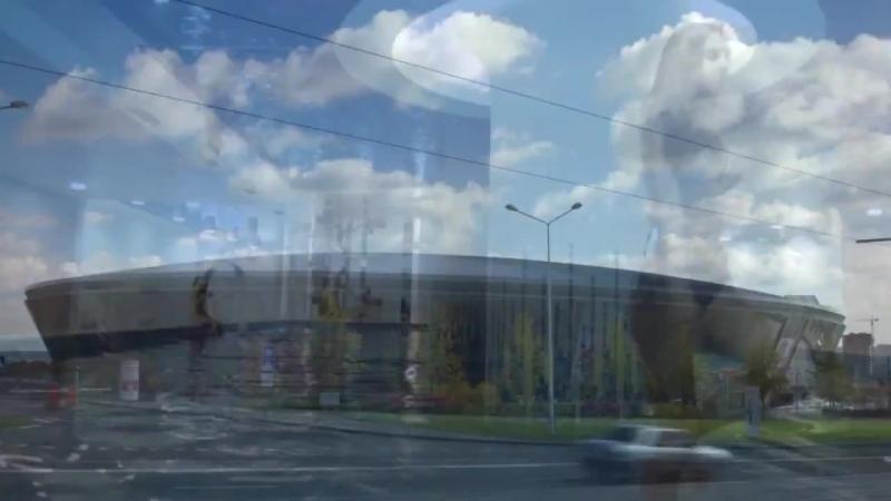 Donetsk promo for UEFA Euro 2012