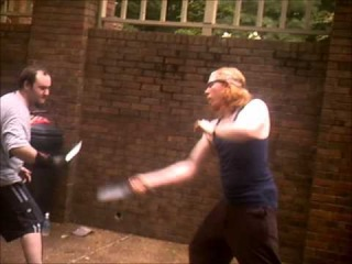 Bowie Knife Fighting