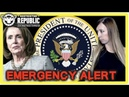 EMERGENCY Pelosi Says She's Removing Trump Making Herself President Under COG Martial Law