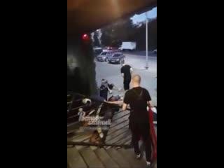 Драка между фанатами Локомотива и Ростова  Ростов-на-Дону Главный
