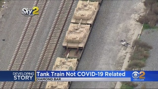 Navy Moving Tanks From Ventura To Inland Empire, Garcetti Says National Guard Not Deployed To LA