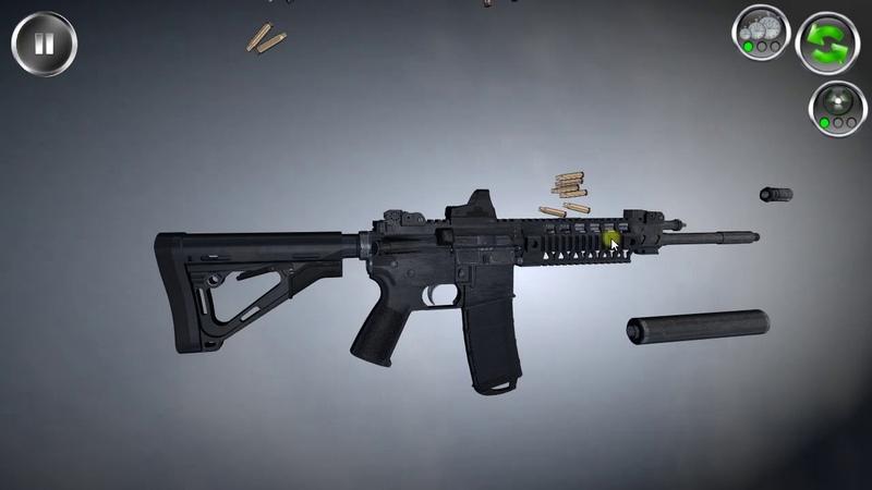 SIG 516 trigger mechanism firing