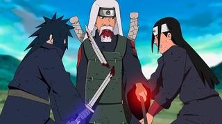 Финальный бой Хаширамы и Мадары против божественного Узумаки | 8 легендарных боев в аниме Наруто