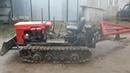 самодельный гусеничный трактор обзор MINI DOZER