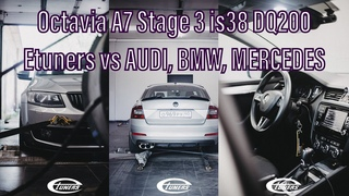 Octavia A7 Stage 3 is38 DQ200 Etuners vs AUDI, BMW, MERCEDES